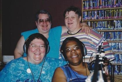 The Last Show Team - KFAI Herstory: Bo, Catherine, Mev, Matthea